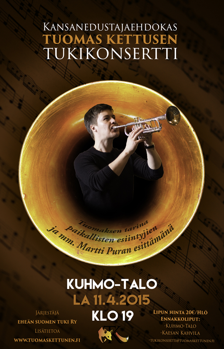 Tuomas Kettusen tukikonsertti
